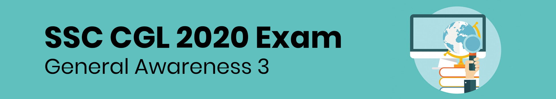 SSC CGL 2020 Exam - General Awareness 3