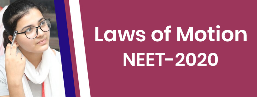 Laws of Motion - NEET 2020