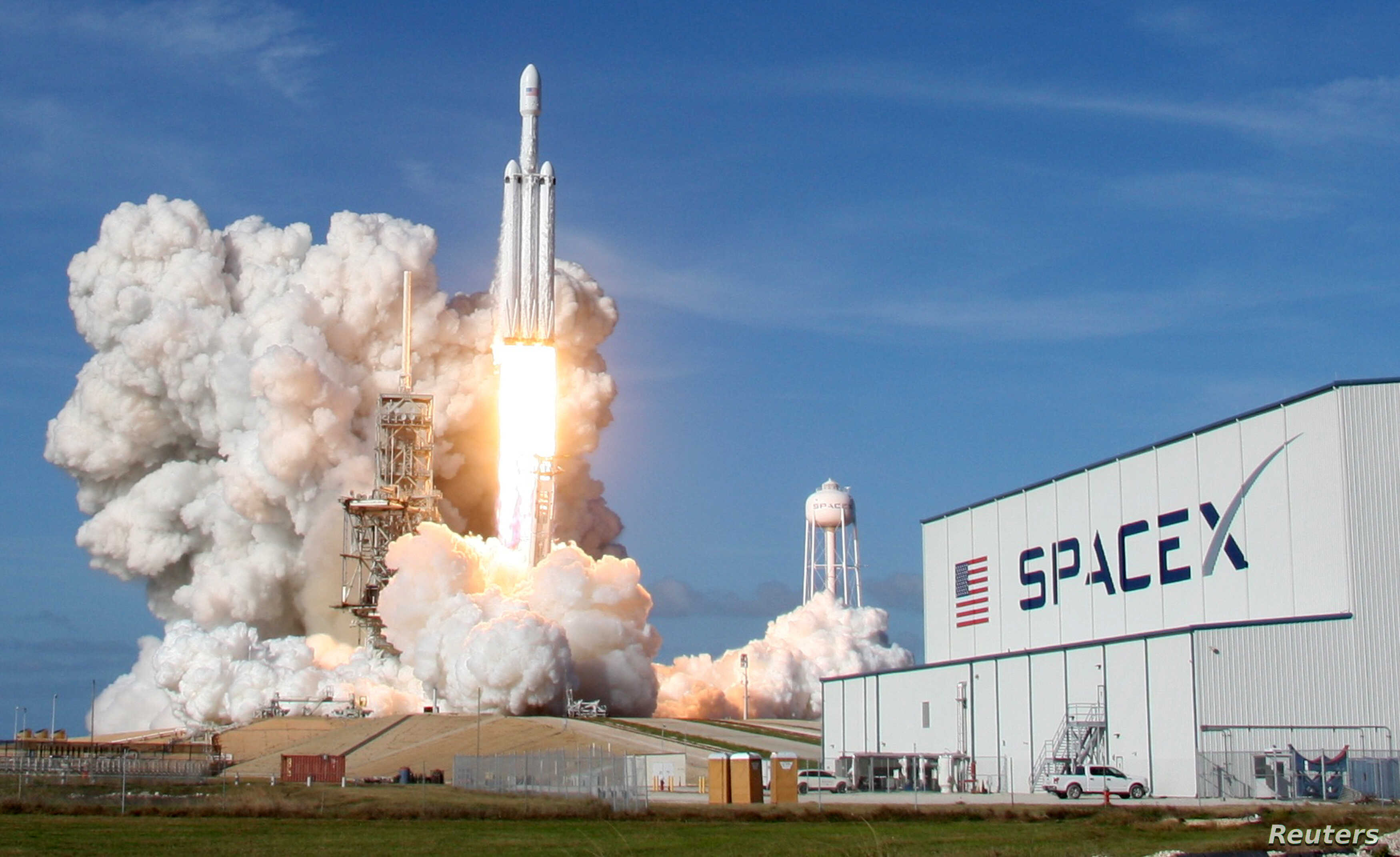 SpaceX made history by becoming the world's first commercial company to send humans into orbit.
