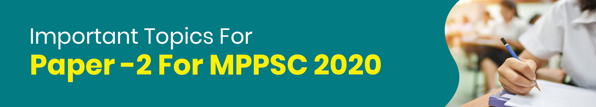 Important Topics For Paper-2 For MPPSC 2020