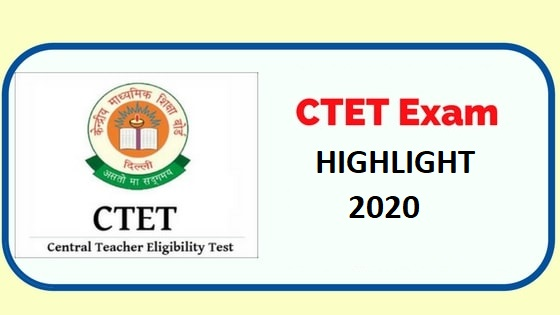 CTET Exam Highlight Tips 2020, Important Topics
