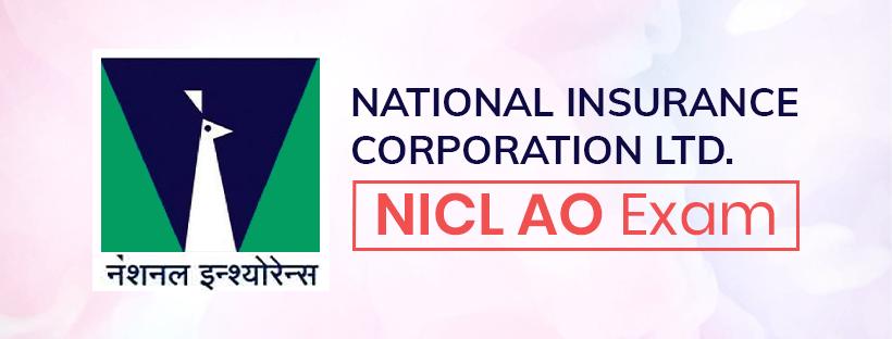 National Insurance Corporation Ltd (NICL) AO Exam Guide