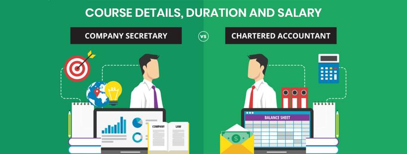 CA Vs CS: Exam course, duration, salary.