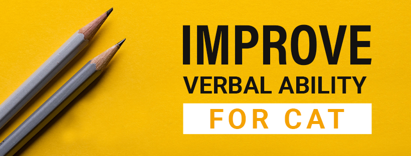 Improve verbal ability for CAT