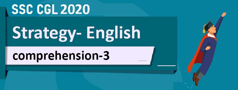 SSC CGL Preparation Strategy- English comprehension-3