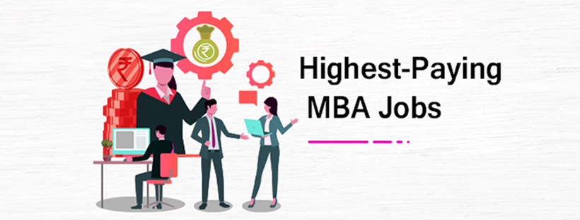 Top paying jobs with an MBA