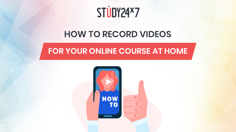 How to record online course videos right from your home?