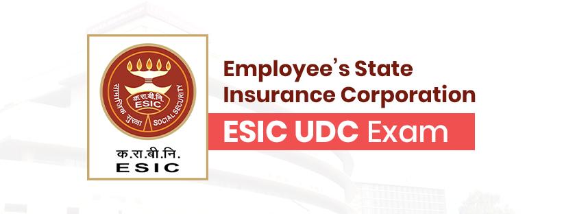 ESIC Upper Division Clerk (ESIC UDC) Exam Guide