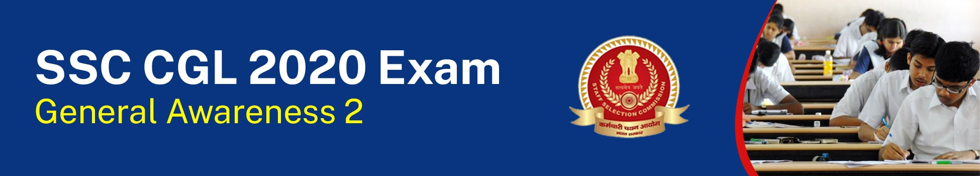 SSC CGL 2020 Exam - General Awareness 2