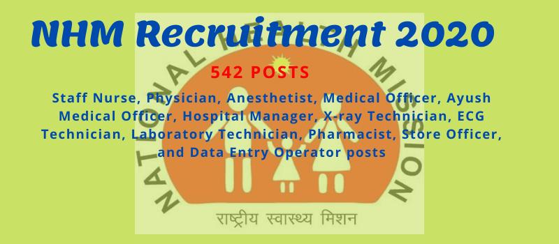 NHM Jalgaon Recruitment 2020