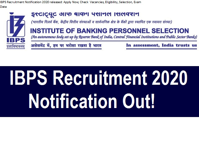 IBPS Recruitment Guide for various Academic Positions